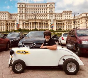 Bukarest entdecken mit Hot Rod Fun
