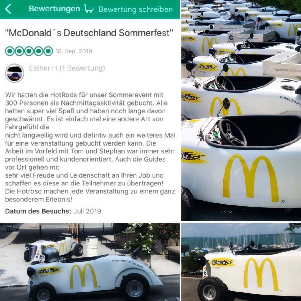 Hot Rod Fun München Bewertung vom Kundenevent